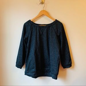 Marc by Marc Jacobs Navy Glitter Top